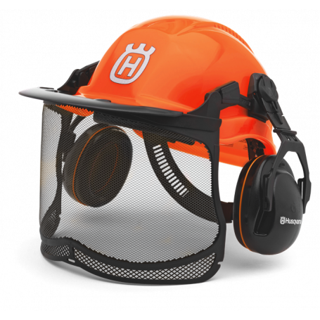 CASQUE FORESTIER FUNCTIONAL ORANGE FLUO