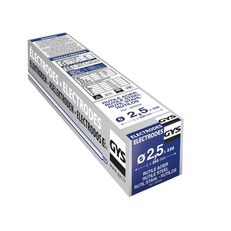 230 ELECT ACIER TYPE GY 38 DIAM 2 5